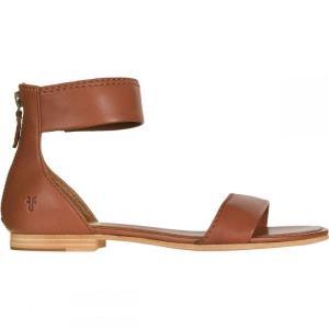 フライ レディース シューズ・靴 サンダル Carson Ankle Zip Sandal Cognac|fermart3-store