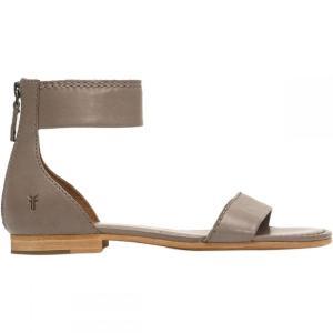 フライ レディース サンダル・ミュール シューズ・靴 Carson Ankle Zip Sandal Grey|fermart3-store
