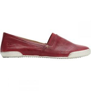 フライ Frye レディース スリッポン・フラット シューズ・靴 Melanie Slip On Shoe Burgundy/Red|fermart3-store