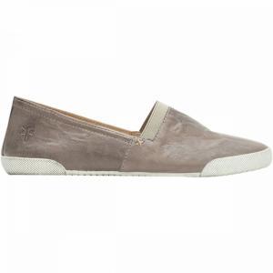 フライ Frye レディース スリッポン・フラット シューズ・靴 Melanie Slip On Shoe Grey|fermart3-store