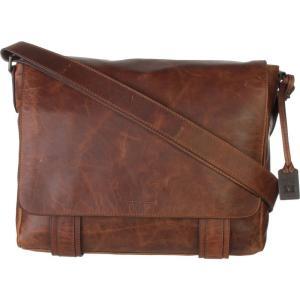 フライ レディース ショルダーバッグ バッグ Logan Messenger Bag Cognac|fermart3-store