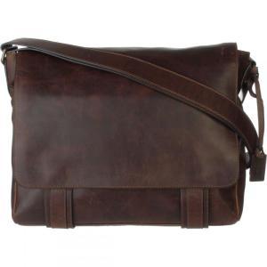フライ レディース ショルダーバッグ バッグ Logan Messenger Bag Dark Brown|fermart3-store