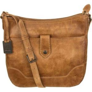 フライ Frye レディース ショルダーバッグ バッグ Melissa Button Crossbody Bag Beige|fermart3-store