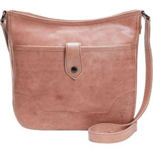 フライ Frye レディース ショルダーバッグ バッグ Melissa Button Crossbody Bag Dusty Rose|fermart3-store
