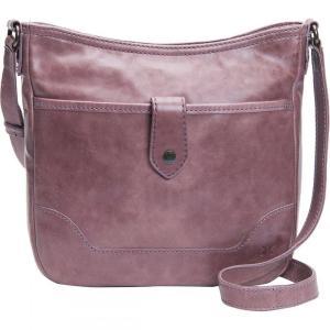 フライ Frye レディース ショルダーバッグ バッグ Melissa Button Crossbody Bag Lilac|fermart3-store
