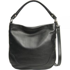 フライ Frye レディース ショルダーバッグ バッグ Melissa Hobo Bag Black Full Grain|fermart3-store
