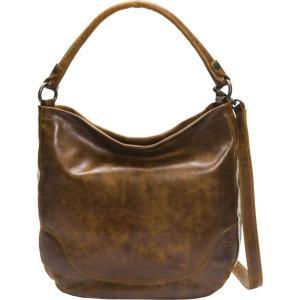 フライ Frye レディース バッグ Melissa Hobo Bag Cognac|fermart3-store