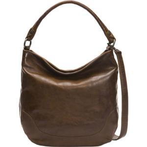 フライ Frye レディース バッグ Melissa Hobo Bag Dark Brown|fermart3-store