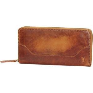 フライ Frye レディース 財布 Melissa Zip Wallet Cognac|fermart3-store