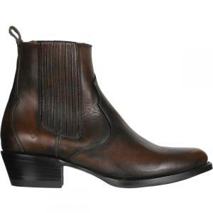 フライ Frye レディース ブーツ シューズ・靴 Diana Chelsea Boot Tan/Full Grain Brush Off fermart3-store