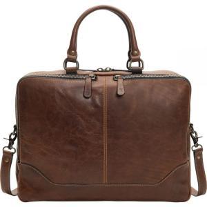 フライ Frye レディース バッグ Logan Work Bag Dark Brown fermart3-store
