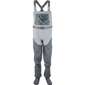 ホッジマン メンズ ボトムス・パンツ 釣り・フィッシング H4 Stocking Foot Storm Grey/Charcoal|fermart3-store
