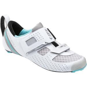 ルイスガーナー レディース トライアスロン シューズ・靴 Tri X - Lite II Shoe White/Blue Fish|fermart3-store