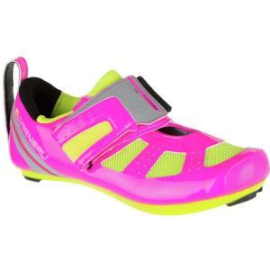 ルイスガーナー レディース トライアスロン シューズ・靴 Tri X - Speed III Shoe Pink Glow/Bright Yellow|fermart3-store