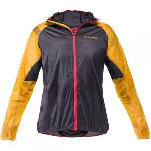 ラスポルティバ メンズ ジャケット アウター Blizzard Windbreaker Jackets Black/Yellow fermart3-store