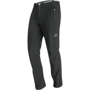 マムート メンズ ボトムス カジュアルパンツ Runbold Trail SO Pant Black|fermart3-store