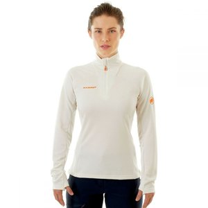マムート Mammut レディース トップス Moench Advanced 1/2 - Zip Top Bright White|fermart3-store
