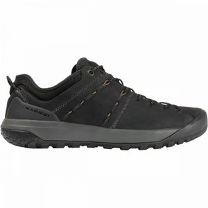 マムート Mammut メンズ シューズ・靴 ハイキング・登山 Hueco Low LTH Shoes Black/Sand fermart3-store