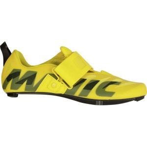 マヴィック Mavic メンズ シューズ・靴 トライアスロン Cosmic SL Ultimate Tri Shoes Yellow Mavic/Black|fermart3-store