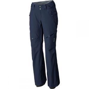 マウンテンハードウェア Mountain Hardwear レディース ボトムス・パンツ スキー・スノーボード Chute Insulated Pant Dark Zinc|fermart3-store