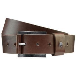 ニクソン メンズ ベルト Americana II Belt Dark Brown|fermart3-store