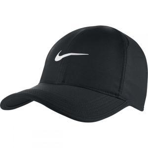 ナイキ レディース ランニング・ウォーキング Aerobill Featherlight Running Hat Black/Black/Black/White fermart3-store