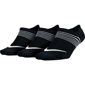 ナイキ レディース ランニング・ウォーキング Lightweight Training Sock - 3 - Pack Black/White fermart3-store