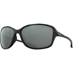 オークリー Oakley レディース スポーツサングラス Cohort Prizm Polarized Sunglasses Polished Black W/Prizm Black Iridium Polarized|fermart3-store
