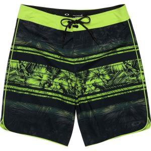 オークリー メンズ 海パン 水着・ビーチウェア Temples 19in Shorts Blackout|fermart3-store