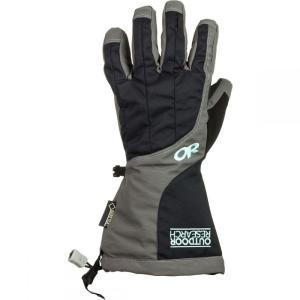アウトドアリサーチ レディース 手袋・グローブ Arete Gloves Black/Charcoal|fermart3-store
