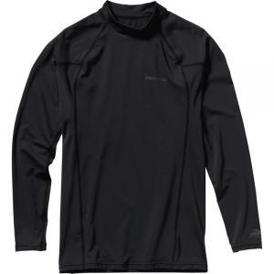 パタゴニア メンズ ラッシュガード 水着・ビーチウェア R0 Long - Sleeve Rashguards Black/Forge Grey fermart3-store