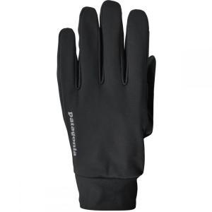 パタゴニア レディース 手袋・グローブ Wind Shield Gloves Black|fermart3-store