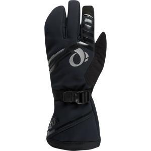 パールイズミ メンズ グローブ 自転車 Pro AmFIB Super Glove Black/Black|fermart3-store