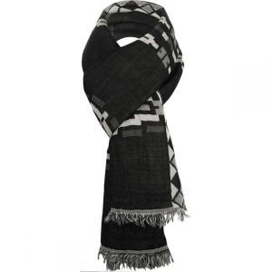 ペンドルトン Pendleton レディース マフラー・スカーフ・ストール Textured Scarf Black|fermart3-store