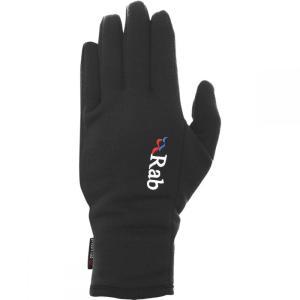 ラブ Rab メンズ 手袋・グローブ Power Stretch Pro Gloves Black fermart3-store