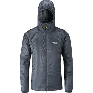 ラブ メンズ ジャケット アウター Xenon - X Hooded Insulated Jackets Ebony/Zinc fermart3-store