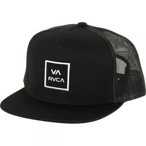 ルーカ RVCA メンズ キャップ 帽子 VA All The Way III Trucker Hats Black fermart3-store