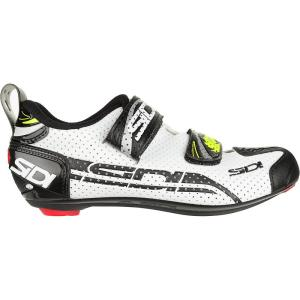 シディー レディース シューズ・靴 トライアスロン T - 4 Air Carbon Composite Shoes White/Black|fermart3-store