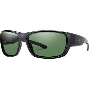スミス メンズ スポーツサングラス Forge Sunglasses - Polarized Black/Polarized Gray Green|fermart3-store