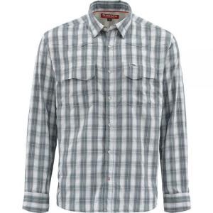 シムズ Simms メンズ シャツ トップス Big Sky Shirt Storm Plaid|fermart3-store