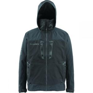 シムズ メンズ アウター 釣り・フィッシング ProDry Gore - Tex Jackets Black|fermart3-store