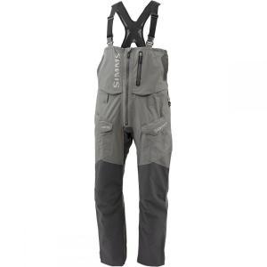 シムズ Simms メンズ 釣り ウェア ProDry Gore-Tex Bib Pant Gunmetal|fermart3-store