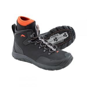 シムズ メンズ シューズ・靴 釣り・フィッシング Intruder Felt Boots Gunmetal|fermart3-store