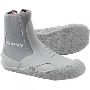 シムズ メンズ シューズ・靴 釣り・フィッシング ZipIt II Booties Light Grey|fermart3-store