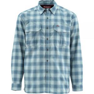 シムズ Simms メンズ シャツ トップス Cold Weather Shirt Admiral Blue Plaid|fermart3-store