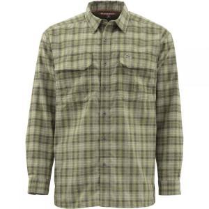 シムズ Simms メンズ シャツ トップス Cold Weather Shirt Covert Plaid|fermart3-store