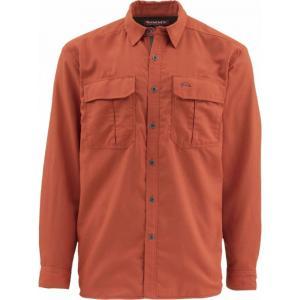 シムズ Simms メンズ シャツ トップス Cold Weather Shirt Simms Orange|fermart3-store