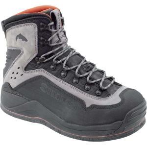 シムズ メンズ シューズ・靴 釣り・フィッシング G3 Guide Felt Boots Steel Grey|fermart3-store