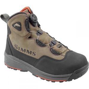 シムズ メンズ シューズ・靴 釣り・フィッシング Headwaters Boa Boots Wetstone|fermart3-store