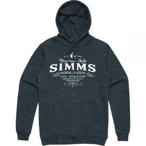 シムズ Simms メンズ パーカー トップス 100 Proof Hoodies Navy Heather|fermart3-store